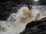 Head Banger in Spean Gorge