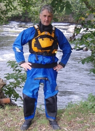 A Rubberman drysuit